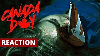 Canada Day Faux Horror Movie Trailer Reaction and Review