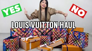 My 1ST Louis Vuitton REGRET? *MASSIVE LV HAUL with prices!!* 🛍