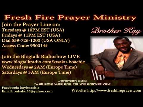 SPIRITUAL WARFARE PRAYER LINE: DAY 5 2ND BREAKTHROUGH FASTING AND PRAYERS  ALL THINGS ARE POSSIBLE