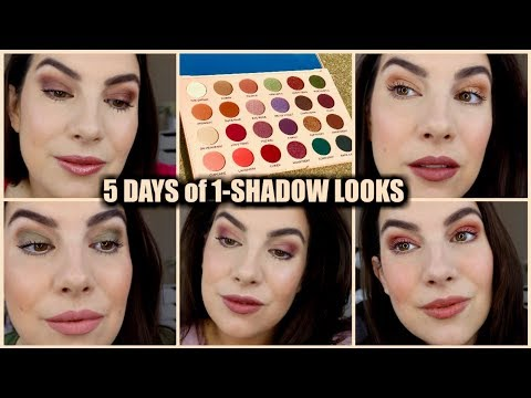5 ONE-SHADOW LOOKS with The Wants Palette - Revolution X Emily thumbnail