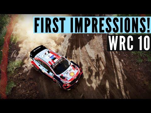 WRC 10: My FIRST impressions (Xbox Series X)