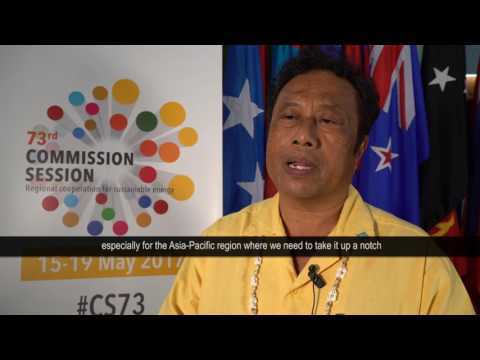 Voices from the 73rd Commission Session: H.E. Mr. Tommy Remengesau