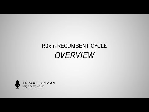 R3xm Recumbent Cycle Overview by Dr. Scott Benjamin