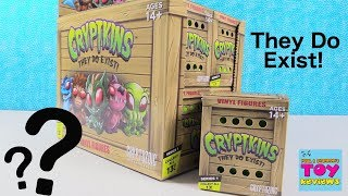 Cryptkins Vinyl Figures They Do Exist Cryptozoic Unboxing Review | PSToyReviews