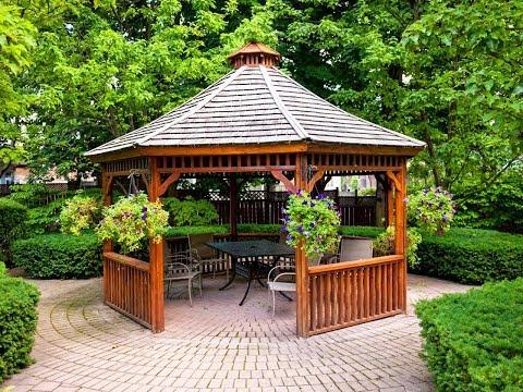 Backyard Peragola and Gazebo Design - Peragola Unique Design Ideas