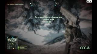BFBC2 Beta - How to kill the campers at the rock!