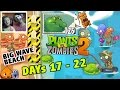 Mike Dad play PVZ 2 Guacodile is Awesome BIG WAVE BEACH Days 17, 18, 19, 20, 21, 22
