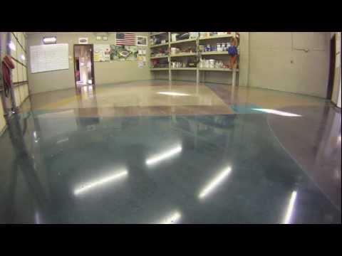 Polishing Concrete Floor