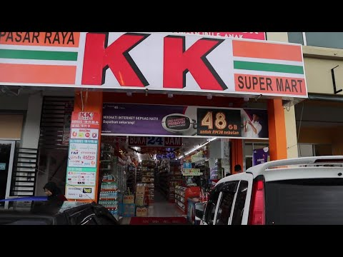 Funny Things You will Find in KK Supermart of Malaysia | The Local Seven Eleven of Malaysia