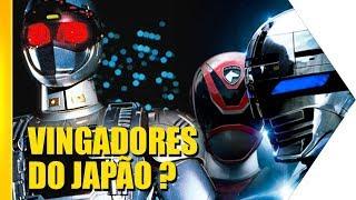 Jaspion nos Vingadores: É a revolução no Japão | OmeleTV