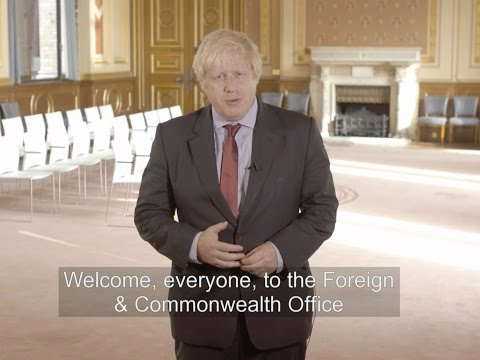 Welcome to the Foreign Office