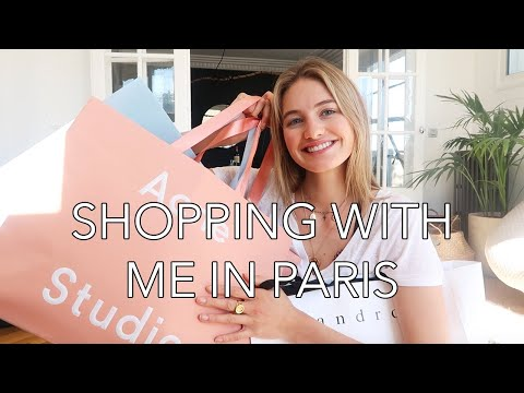 Fashion Shopping in Paris | Model Favorites, The Perfect Fit, & My Style | Sanne Vloet