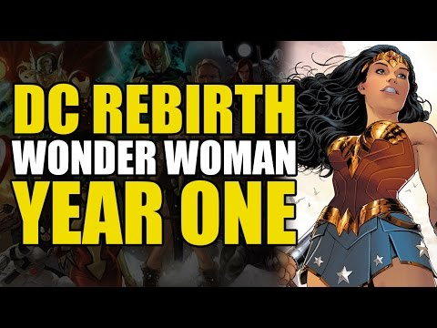 Wonder Woman Rebirth Vol 1: Wonder Woman's New Origin