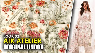 Pakistani Wedding Dresses 2020 | AIK Atelier Unboxing Look 02 Chiffon Dress 2020 | Sara Clothes