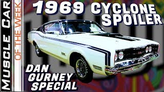 1969 Mercury Cyclone Spoiler Dan Gurney 428 Super Cobra Jet MCACN Muscle Car Of The Week Video 336