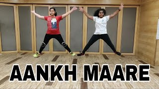 SIMMBA - Aankh marey dance video | choreography by parvez rehmani | aankh maare dance cover |