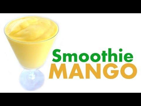 how-to-make-a-mango-smoothie---tropical-yellow-mangoes-milkshake-recipes---milkshakes-recipe-jazevox