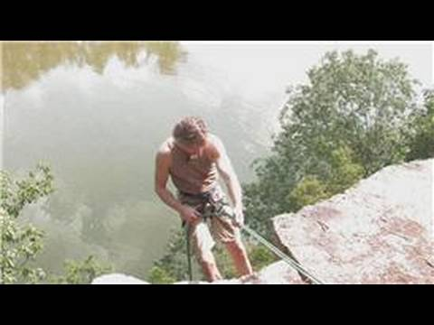 Outdoor Rock Climbing : How to Rappel