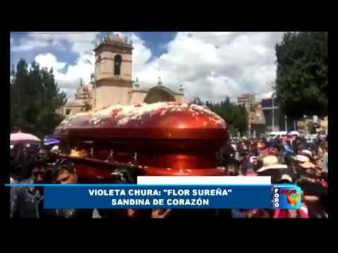 Falleció Violeta Chura,