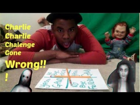 Charlie Charlie Challenge PENCIL GAME! Gone Wrong!