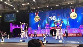 Univ of Kentucky Cheer 2018 UCA National Chions
