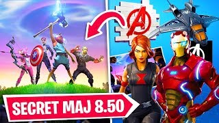 THE BEST FORTNITE Update (SKIN SECRET AVENGERS)