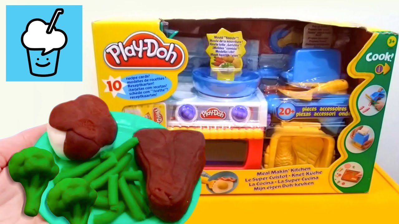 Play Doh Knet Küche Play Doh Meal Makin Kitchen Playset