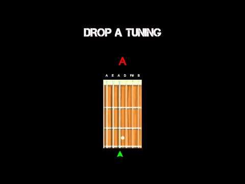 Guitar Tuning - Drop A
