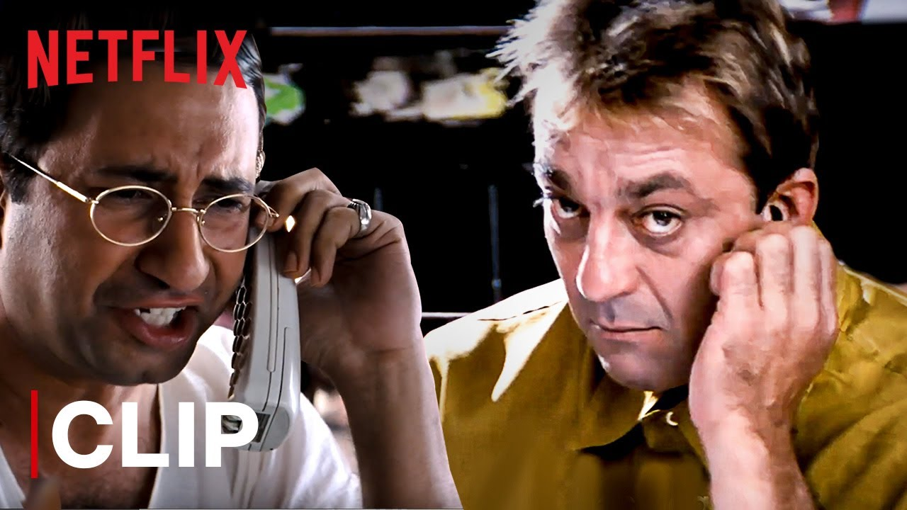 Download Munna Bhai Funny Exam Cheating Scene | Sanjay Dutt | Munna Bhai M.B.B.S. | Netflix India