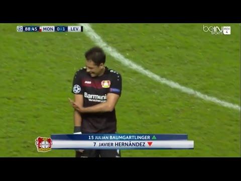 Javier Chicharito Hernández vs Monaco 27/09/16 HD