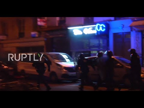 France: Protesters decry police violence at high school demo