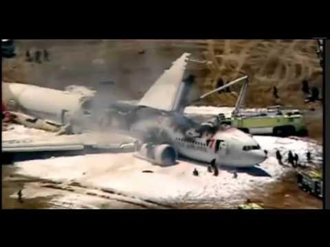 KOREAN plane crash in san francisco