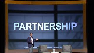 Humorous Keynote & Event Emcee,  Scott Bloom _ The Power of Partnership