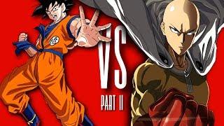 Goku Vs Saitama Rap Battle Part II (One Punch Man) | Daddyphatsnaps