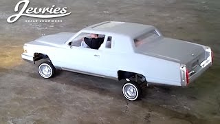 RC 1/24 Cadillac Fleetwood Lowrider