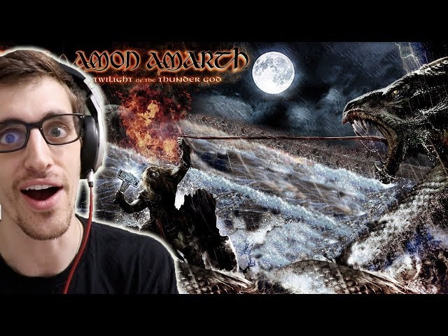 "Hip-Hop Head's FRST TIME Hearing AMON AMARTH: ""Twilight Of The Thunder God"" REACTION"