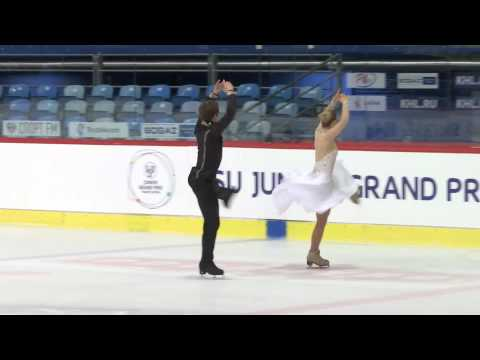 2015 ISU Junior Grand Prix - Zagreb Short Dance Rachel PARSONS / Michael PARSONS USA