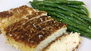 Avas Flava Episode 146 Parmesan Crusted Chicken With Lemon Pepper Green Beans