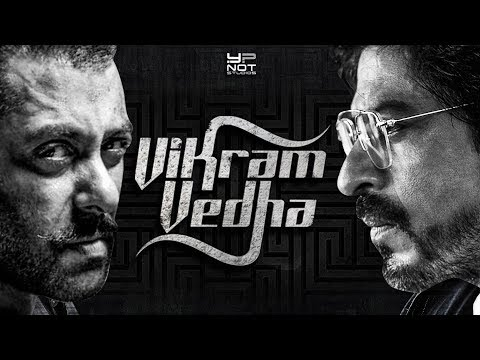 Who plays Vikram- Vedha in Hindi remake?