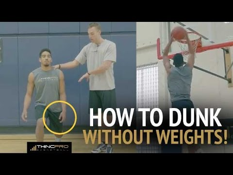 How To Dunk Without Lifting Weights Top 3 Vertical Jump Plyometric