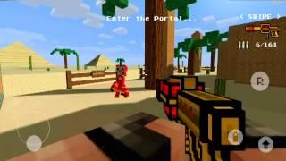 Начало нового 2 мира!!!! В pixel gun 3D.