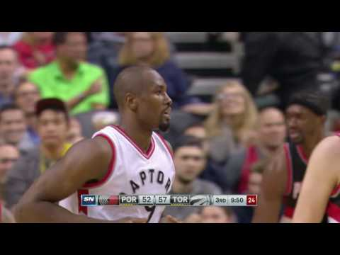Portland Trail Blazers vs Toronto Raptors | February 26, 2017 | NBA 2016-17 Season