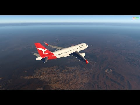 X-Plane 11 | TolisS a319 v1 1 | YMML-YSSY -Native VR