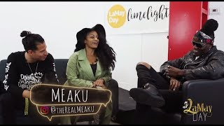 """Thankful Creative"" LaMay Day Limelight with Meaku"