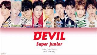 Gambar cover Super Junior (슈퍼주니어) – DEVIL (Color Coded Lyrics) [Han/Rom/Eng]