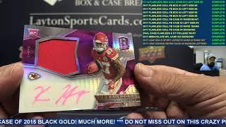 2017 Spectra NFL 2 Box Break for Chris  C