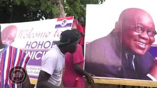 Presidential Diaries: President Akufo-Addo Tours Volta Region