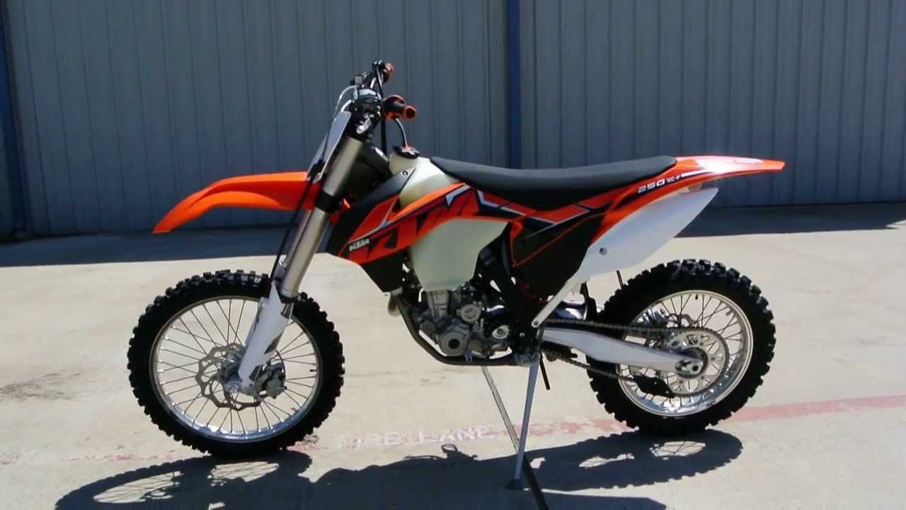 2014 KTM 250 XC-F Brand New For Sale $8,599 - YouTube
