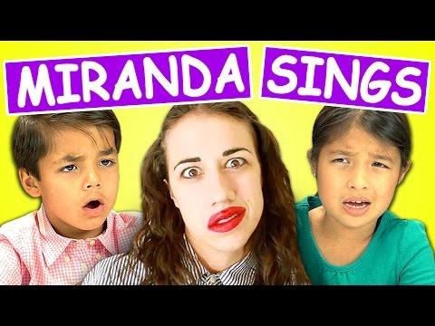 Kids React to Miranda Sings