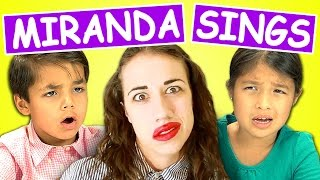 Kids React to Miranda Sings